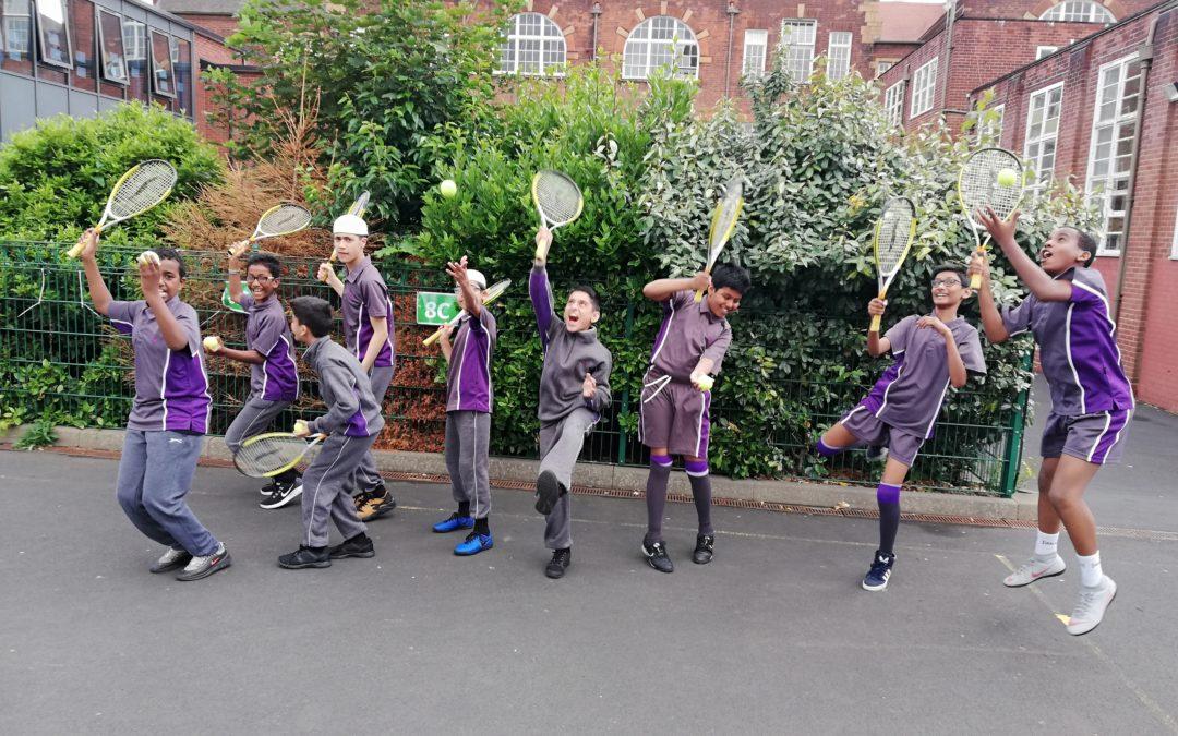 It's 'advantage' Eden pupils thanks to tennis leadership course